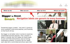Are You Making These Common Website Navigation Mistakes? Most tips are actually quite helpful!