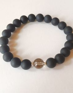 Smokey Quartz is known for being a grounding stone. It can transmute negative energies, help to relieve depression, increase the ability to get things done, and gives you a joy of living.