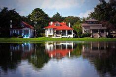 Beautiful homes on Bayou St. John