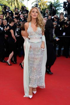 Blake Lively in Chanel Couture, 2014 - The Most Daring Dresses on the Cannes Red Carpet - Photos