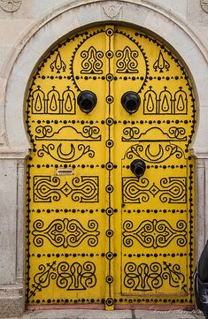 The door of Tunis. | Flickr - Photo Sharing! ♥ Stunning, classic jewelry: etsy.com/shop/BlueDivaDesigns bluedivagal