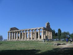 Temple of Cerere/Athena in Paestum, province of Salerno