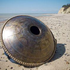 """GUDA Drum Design """"Lotos with mantra"""" #gudadrum #handpan #gubarevdrum"""