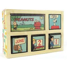 Perpetual Calendar, Peanuts Gang,1PAJ1119