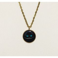 Cheshire cat smile small Necklace Limited edition Alice in Wonderland Collection
