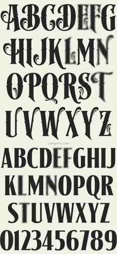 Letterhead Fonts / LHF Signmaker/ Antique Fonts