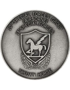 10th Special Forces Challenge Coin
