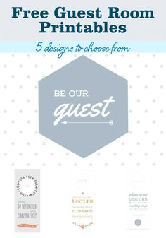 Make+a+Guest+Room+Welcome+Basket+(With+5+FREE+Printables)+from+MomAdvice.com.
