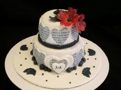 Anniversary Cake    Uploaded by Samantha on Monday Jul 09 01:07:52 2012  Submitted into the July, 2012  Inkedibles Contest
