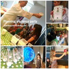 A Happy Healthy Mummy: Sublime science - for a party with a bang!