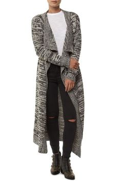 bethany chunky longline cardi Chunky Knitwear, Winter Warmers, Cropped Hoodie, Long A Line, Hoodies, Sweatshirts, Playing Dress Up, Pullover, Sweaters