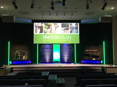 Pipes and Tape from Crossroads Church in Roanoke, VA | Church Stage Design Ideas