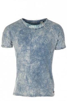 Scotch & Soda Slim Fit T-Shirt Light Blue