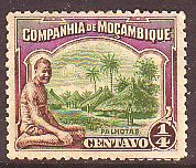 Mozambique Co. 1918 - Village 1/4c - 1 Used stamp #4673 - bidStart (item 40412052 in Stamps... Mozambique)