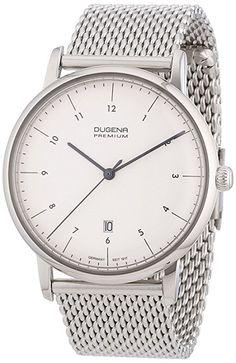 Dugena Herren-Armbanduhr XL Premium Dessau Analog Quarz Edelstahl 7000034