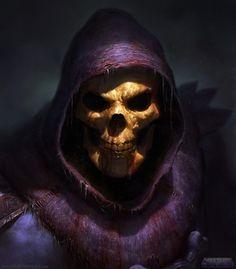#painting #skeletor #heman