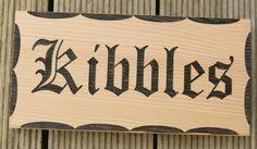 Wooden sign Western red cedar, laser engraved with black fill. MyChoice@Firebridge