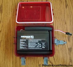 Palmetto Kayak Fishing: Kayak Battery Box