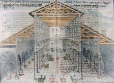 Old St. Peter's   plan and section  has a basilica plan   has 5 aisles   also the apse is highly decorated   Early Christian art 250- 550 CE  Google Image Result for http://saintpetersbasilica.org/Plans/basil-osp.jpg