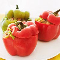 Slow-Cooker Chicken Stuffed Peppers Recipe