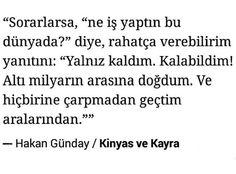 Hakan Günday, Kinyas ve Kayra