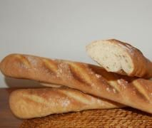 "BAGUETTE FRANCESE (dedicata a Panina: l'unica, vera ""Baguette"" del sito!)"