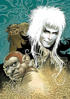 Jim Henson's Labyrinth Artist Tribute - Comics by comiXology Jim Henson Labyrinth, Labyrinth Movie, Fantasy Films, Fantasy Art, David Mack, Goblin King, King David, The Dark Crystal, Soul Art