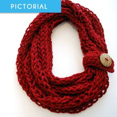Give the gift of warmth and fashion this holiday season with this quick and easy finger knit and crochet infinity scarf. A previous guest blog post written by a good friend of mine explains how this pattern helped save her loads of money for Christmas this year. Assuming you already have a crochet hook, this …