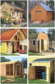 Shed Design - CLICK PIC for Lots of Shed Ideas. #diyproject #woodshedplans