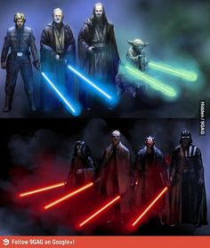 Star Wars /// Jedy Vs Sith
