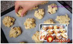 Vynikajúce jablkové sušienky s hrozienkami, ktoré viete pripraviť doslova za pár minút. Sú jemné, lahodné a naozaj vynikajúce.
