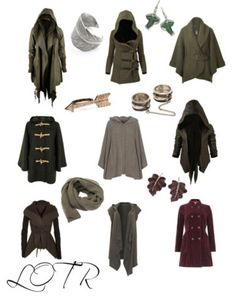 Lord of the Rings inspired coats & accessories :D *can't stop wiggling like a little girl in candy store on my chair*