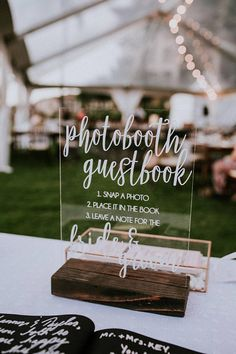 Photo Guestbook Sign - Instant Photo Guestbook Sign - Photo booth Guest book Sign - Acrylic Guestbook Sign - Acrylic Sign - Guestbook Signs