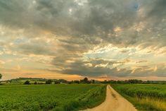 Sunset Hegau by Dietmar on 500px
