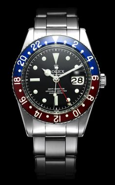 Rolex GMT Master from 1955. www.JRSpublishing-freegifts.co.uk  weight loss, motivation, exercise routines, diets & healthy living advise