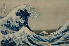 Katsushika Hokusai (1760-1849), The Great Wave off Kanagawa, from the series Thirty-six Views of Mount Fuji