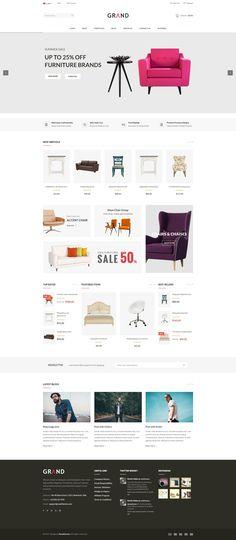 Grand - Responsive Furniture WooCommerce WordPress Theme #furniture #modern #multipurpose • Download ➝ https://themeforest.net/item/grand-responsive-furniture-woocommerce-wordpress-theme/20481544?ref=rabosch