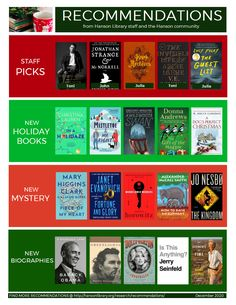 Recommendations from the Hanson Public Library staff and community members! Gregory Maguire, A Man Called Ove, Starting A Book, Accelerated Reader, Popular Books, What To Read, Christmas Holidays, Public, Community
