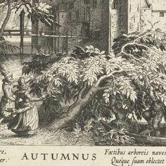 """Autumnus"" ca.1625 by Hessel Gerritsz"