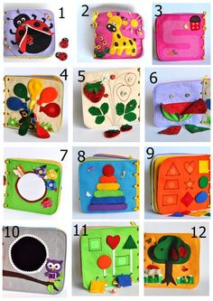 Personalized Quiet Book Busy Book Activity Montessori Fabric Book Travel Toy pages Made to order Personalized Quiet Book Busy Book Activity Montessori Fabric Book Travel Toy pages Made to order Jess Scherbatsky jessspatzel Kids nbsp hellip Diy Quiet Books, Baby Quiet Book, Felt Quiet Books, Sensory Book, Baby Sensory, Infant Activities, Book Activities, Baby Toys, Kids Toys