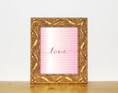 Love  Pink Printable 8x10  Instant Download by LilleMusStudio, $5.00