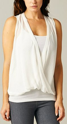 Hope Top in Soft White
