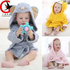 8bef30036 Summer hot sale children's bathrobe Pure cotton towel material Baby bath  towel lovely cloak baby sleeping for 0 1 year old MIC 3-in Robes from  Mother & Kids ...