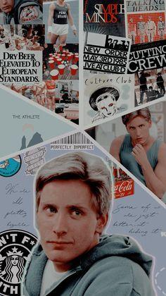 Teen Movies, Iconic Movies, Good Movies, Culture Club, Pop Culture, 1980s Films, Emilio Estevez, Fan Poster, The Breakfast Club