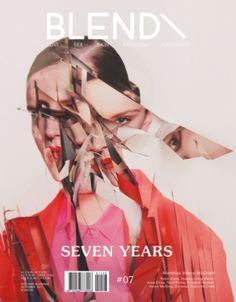 magazine cover, BLEND\