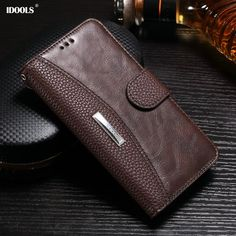 For Huawei Y5 II Case Leather Luxury Flip Wallet Cover Mobile Phone Bags Cases for Huawei Y5 II ii 5.0 Inch Card Holder IDOOLS