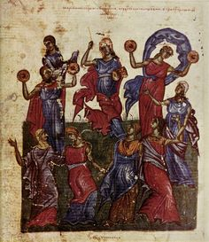 Dance of Miriam, Bulgaria, approx. 1360. - Google Search