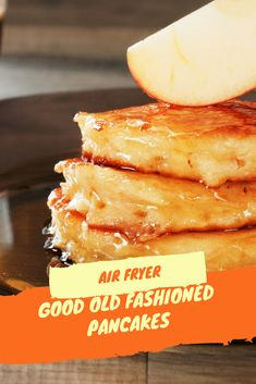 Air Fryer-Good Old Fashioned Pancakes