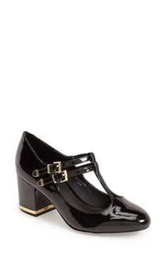 Topshop 'Jenna' T Strap Pump (Women) available at #Nordstrom