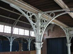 charpente metallique ancienne